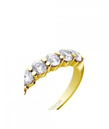 ba4699f1807b Media Alianza De Oro Amarillo Con 6 Diamantes Y Un Peso Total e 0